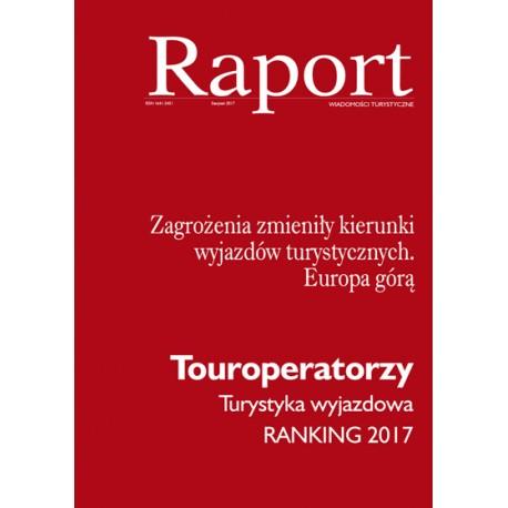 Raport Touroperatorzy 2017
